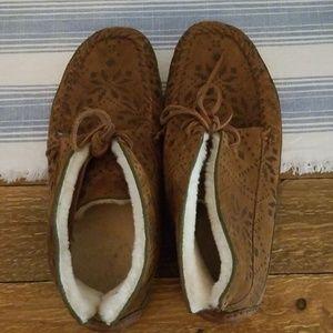Women's FRYE Moccasin Boots Size 10